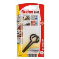 Fischer Nylon Plug (Dia)6mm (L)30mm  Pack of 2