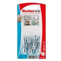 Fischer Steel Hollow Wall Anchor  Pack of 4