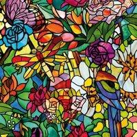 D-C-Fix Tulia Floral Multicolour Self Adhesive Film (L)2M (W)450mm
