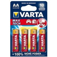 Varta Longlife Max Power Non rechargeable AA Battery Pack of 4