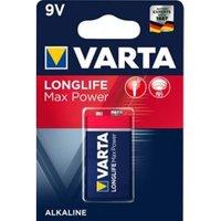 Varta Longlife Max Power Non rechargeable 9V Battery