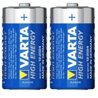 Varta Longlife Power Non rechargeable C (LR14) Battery Pack of 2