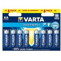 Varta Longlife Power AA Battery Pack of 8.