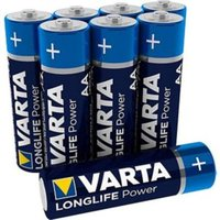 Varta Longlife Power Non-rechargeable AA Battery Pack of 12