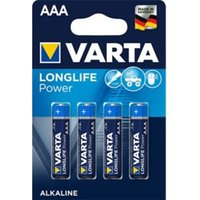 Varta Longlife Power Non rechargeable AAA Battery Pack of 4