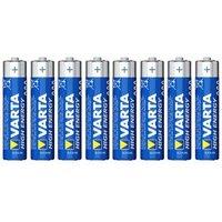 Varta Longlife Power AAA Battery Pack of 8.