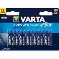 Varta Longlife Power AAA Battery Pack of 12