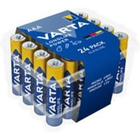 Varta Longlife Power Non rechargeable AAA Battery Pack of 24.