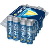 Varta Longlife Power AA Alkaline Battery  Pack of 24
