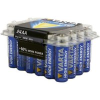 Varta Longlife Power Non-rechargeable AA Battery Pack of 24.