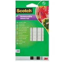 Scotch White Mounting Tape (L)10m (W)8mm