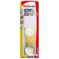 Fischer Multicolour Washbasin fixings 110mm  Pack of 2