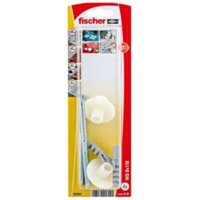 Fischer Washbasin Fixing Caps (L)110 mm  Pack of 2