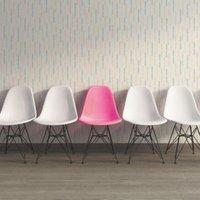 A.S. Creation Pop Colours Cream & Grey Abstract Matt Finish Wallpaper