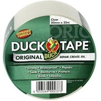 Duck Clear Duct Tape (L)25m (W)50mm