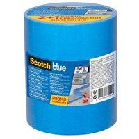ScotchBlue Blue Masking Tape (L)41m (W)48mm Pack of 3