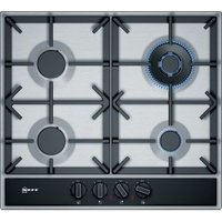 Neff 4 Burner Stainless steel Gas hob (W)582mm.