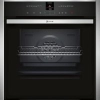 Neff B47VR32N0B Black Built-in Electric Single Multifunction Oven.