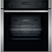 Neff B6ACH7HH0B Black Built-in Single electric multifunction Oven.