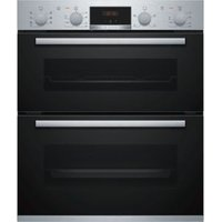 Bosch NBS533BS0B Black Electric Double Oven