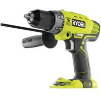 Ryobi One+ Cordless 18V Li-ion Brushed Percussion drill Without batteries R18PD-0
