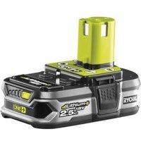 Ryobi ONE+ 18V 2.5Ah Li-ion Power tool battery.