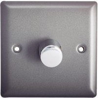 Holder 2-Way Single Pewter Dimmer switch