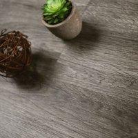 Showhome Dark Grey Wood effect Luxury vinyl click flooring 2.86m² Pack