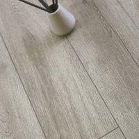 Showhome Grey Wood effect Luxury vinyl click flooring 2.42m² Pack