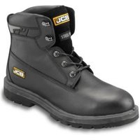 JCB Protector Black Safety boots  Size 8