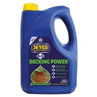 Jeyes 4-in-1 decking power Pressure washer decking cleaner.