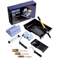 """Harris Trade 9"""" Micropoly Roller set Pack of 18"""