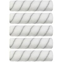 Diall Everyday 9 Woven Polyester Roller Sleeve Pack of 5