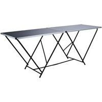 Harris Black Foldable Trestle table (H)50mm (W)610mm (L)1000mm