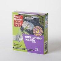 Bayer Garden Tree Stump Killer Weed Killer 0.01kg Of 3