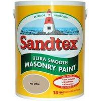 Sandtex Ultra smooth Mid stone Masonry paint  5L