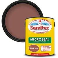 Sandtex Brick red Masonry paint  5L