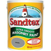 Sandtex Ultra smooth Gravel Masonry paint  5L