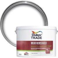 Dulux Trade Weathershield Pure brilliant white Smooth Masonr