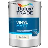 Dulux Trade Gardenia Vinyl matt Emulsion paint 5L