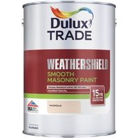 Dulux Trade Weathershield Magnolia Textured Masonry paint  5