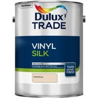 Dulux Trade Trade Magnolia Silk Emulsion paint 5L