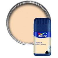 Dulux Peach Matt Emulsion Paint 50ml Tester Pot