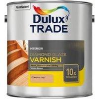 Dulux Trade Clear Gloss Wood varnish 2.5L Tin