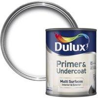 Dulux White Multi surface Primer & undercoat 0.75L