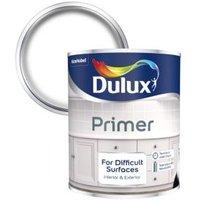 Dulux White Difficult surfaces Primer 0.75L