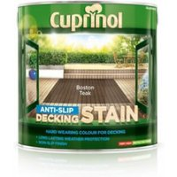 Cuprinol Boston teak Matt Anti Slip Decking stain 2.5L