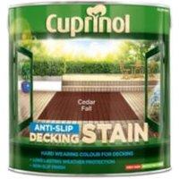 Cuprinol Cedar fall Matt Slip resistant Decking Wood stain 2.5L