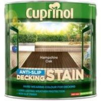 Cuprinol Hampshire oak Matt Slip resistant Decking Wood stain  2.5L
