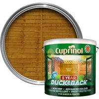 Cuprinol 5 year ducksback Autumn gold Fence & shed Wood treatment 9L